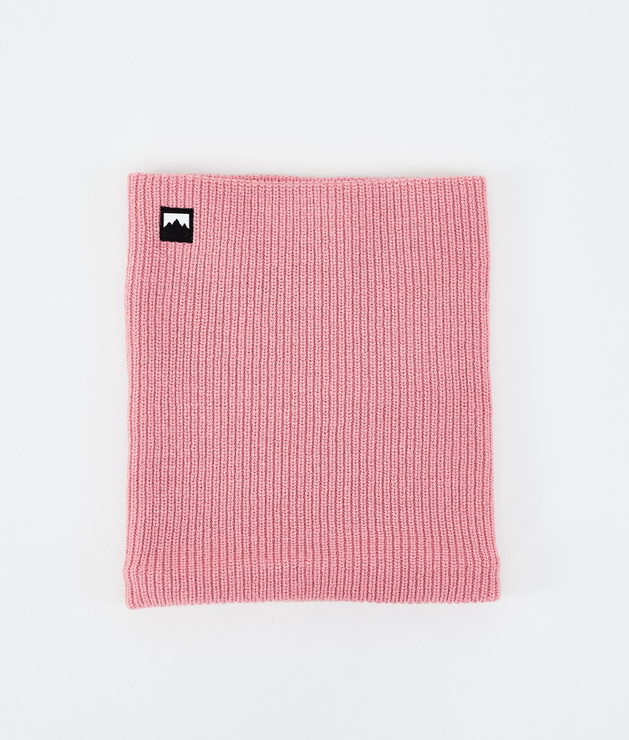 Classic Knitted Facemask Pink