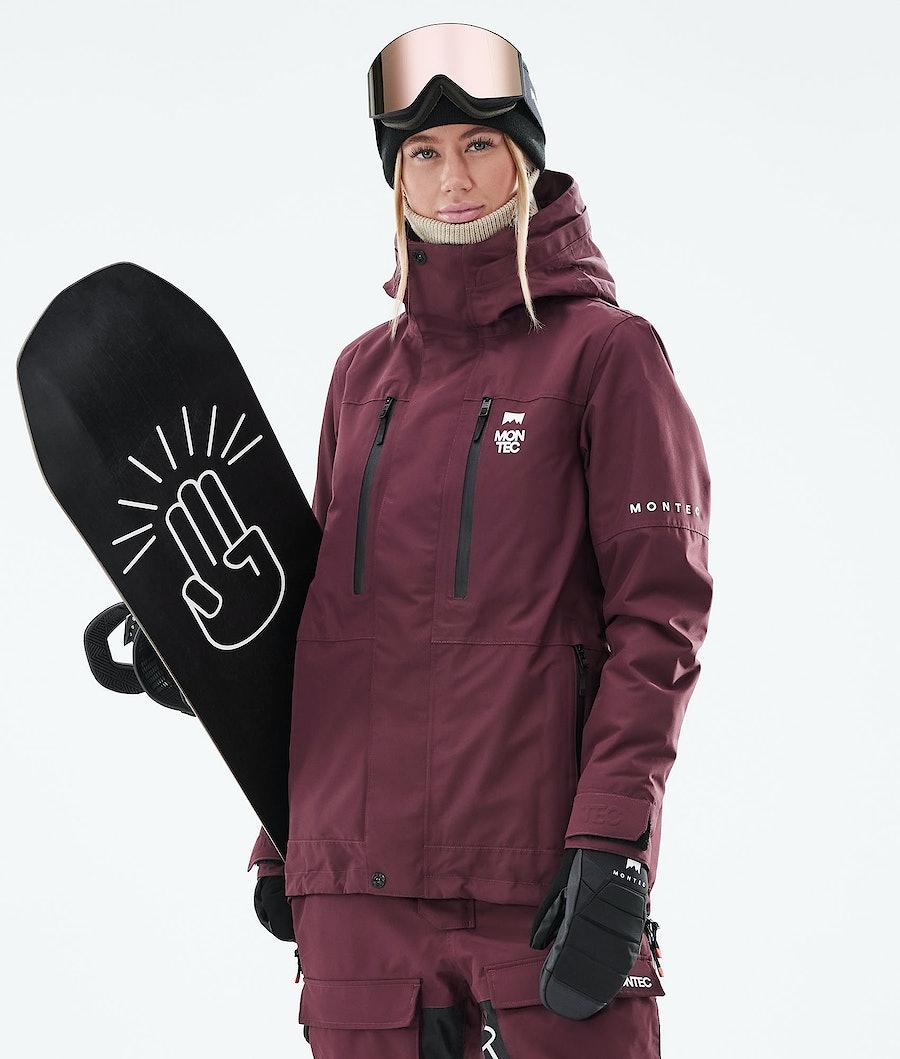 Montec Fawk W Snowboardjacke Burgundy
