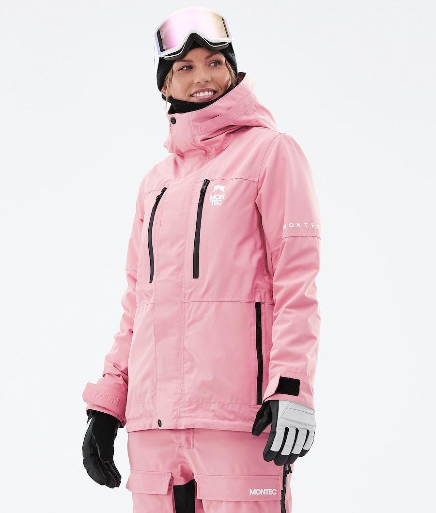 Montec Fawk W Laskettelutakki Pink