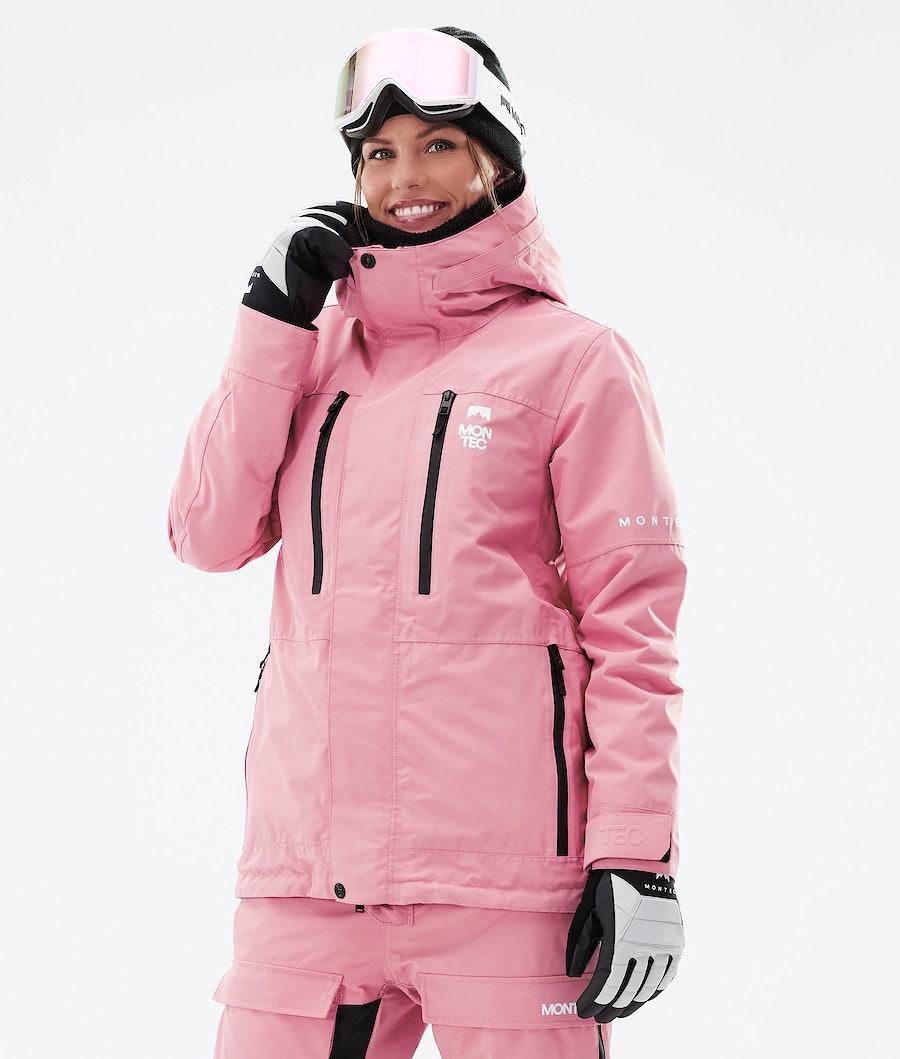Montec Fawk W Snowboardjacke Pink