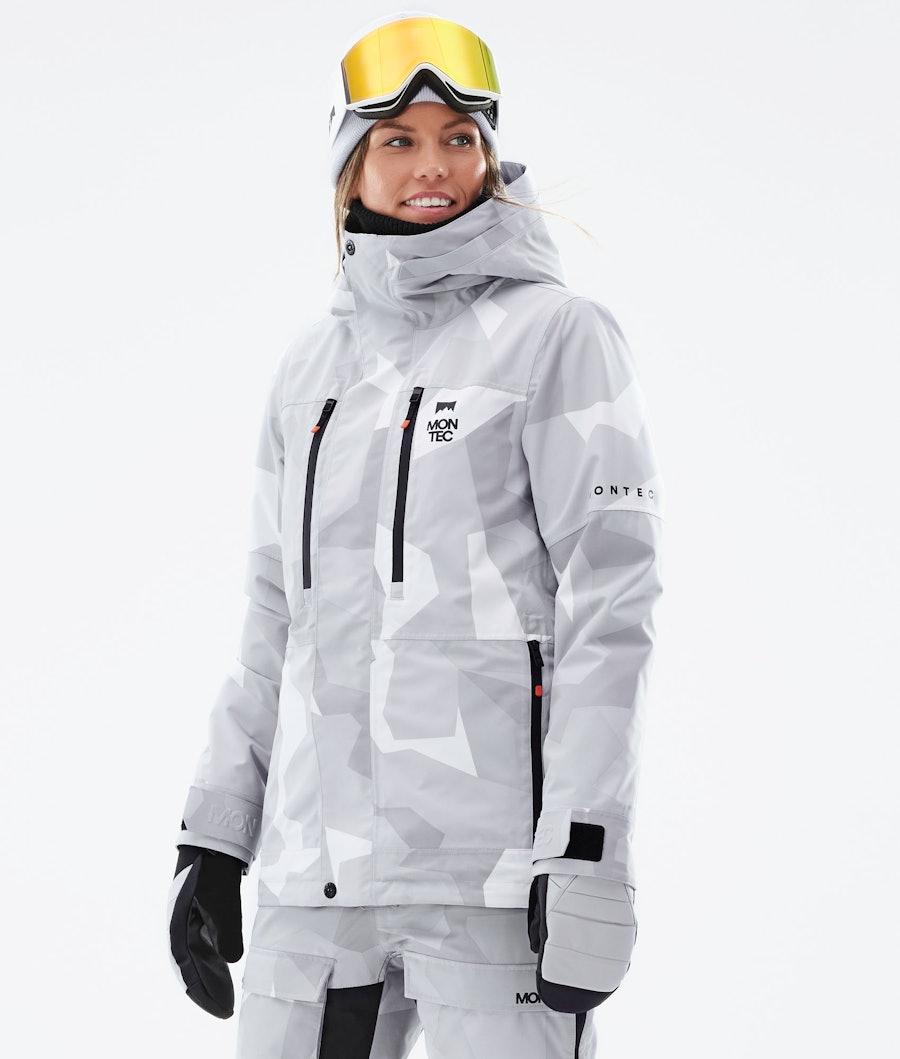 Montec Fawk W Snowboardjacke Snow Camo