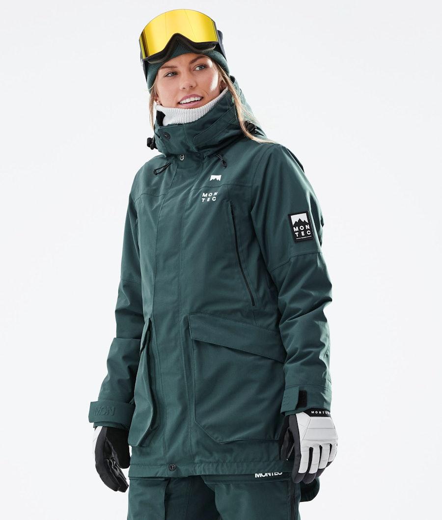 Virago W Ski Jacket Women Dark Atlantic