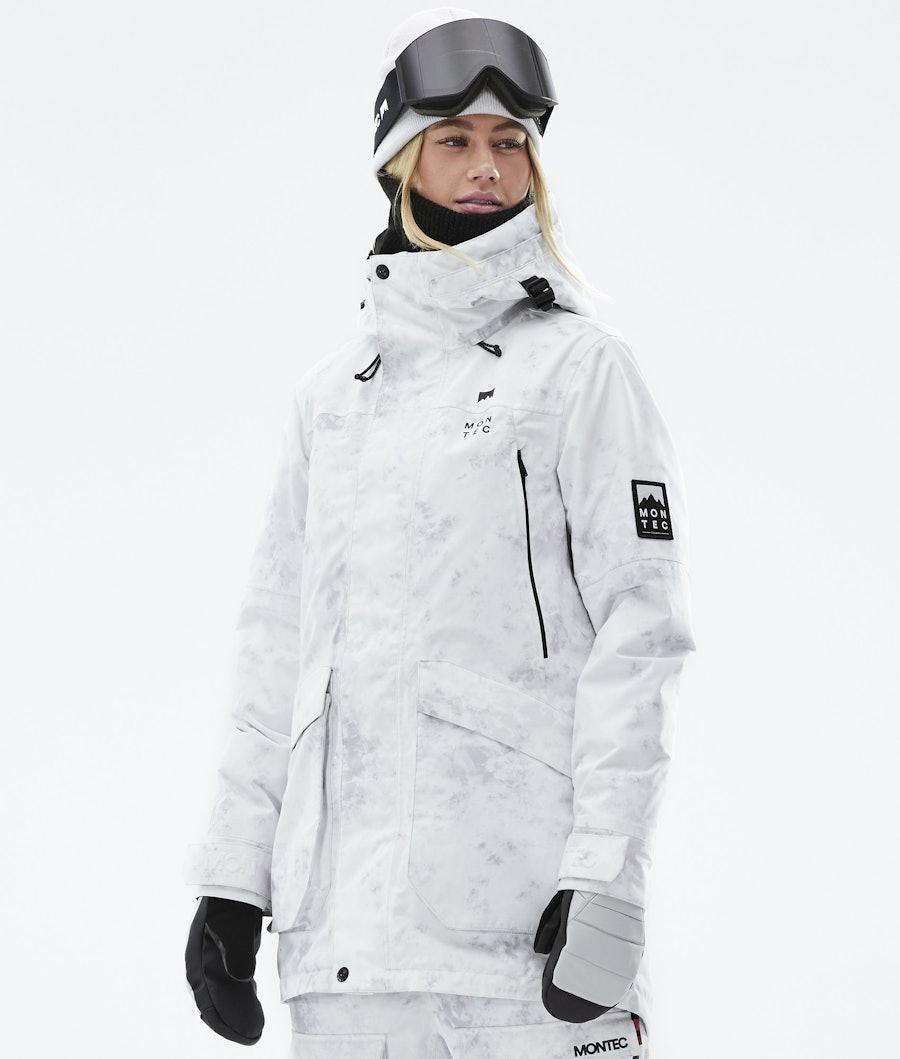 Montec Virago W Snowboardjacke White Tiedye