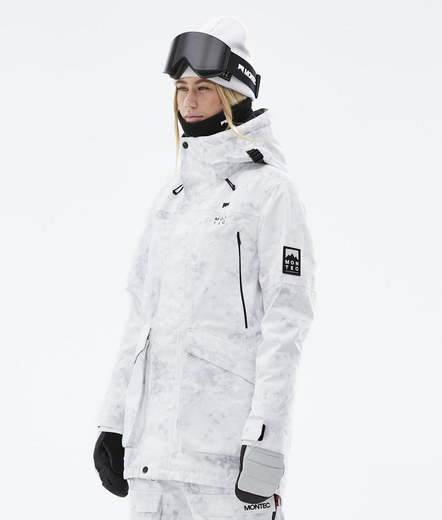 Virago W Ski Jacket Women White Tiedye