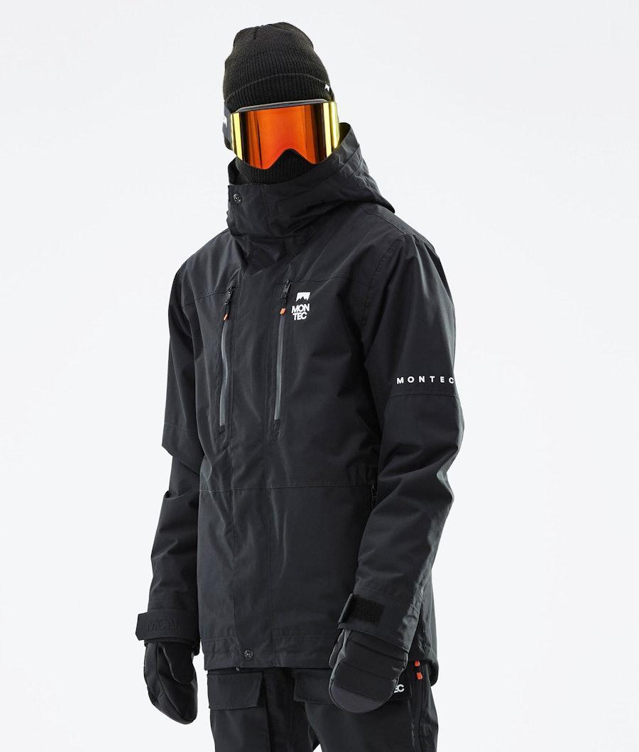Fawk Ski Jacket Men Black
