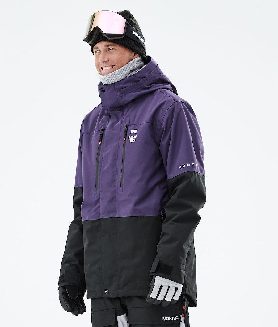 Montec Fawk Snowboardjacka Purple/Black