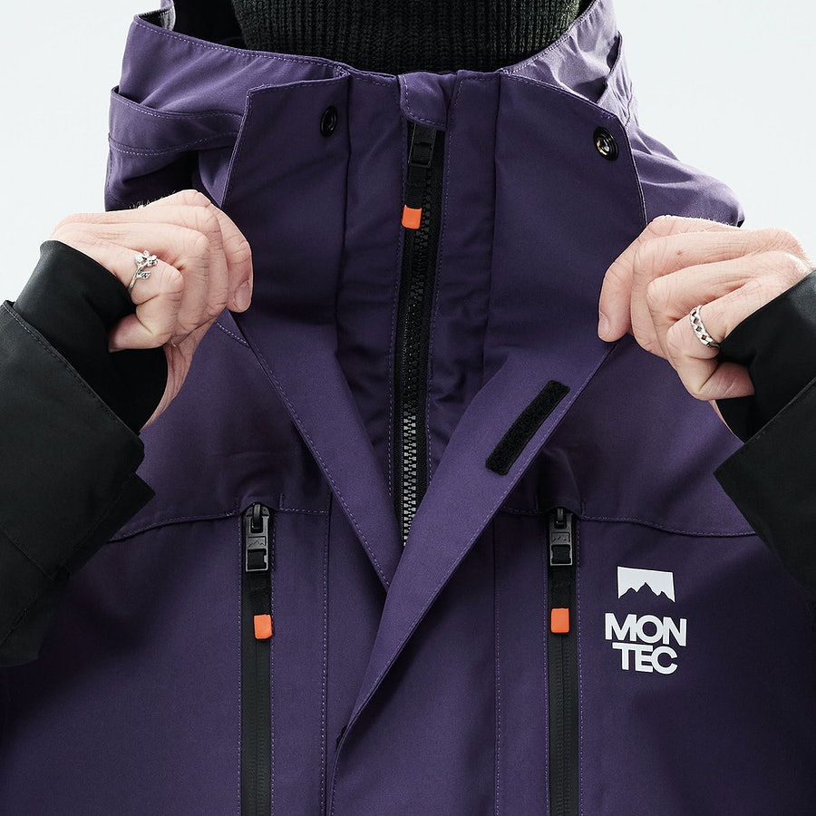 Front Zipper with Double Plackets