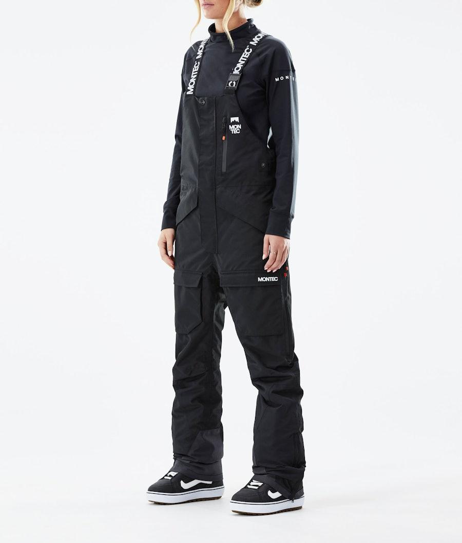 Montec Fawk W Pantaloni Snowboard Black