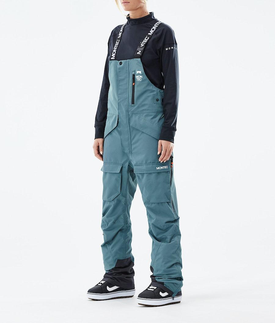 Montec Fawk W Pantaloni Snowboard Atlantic