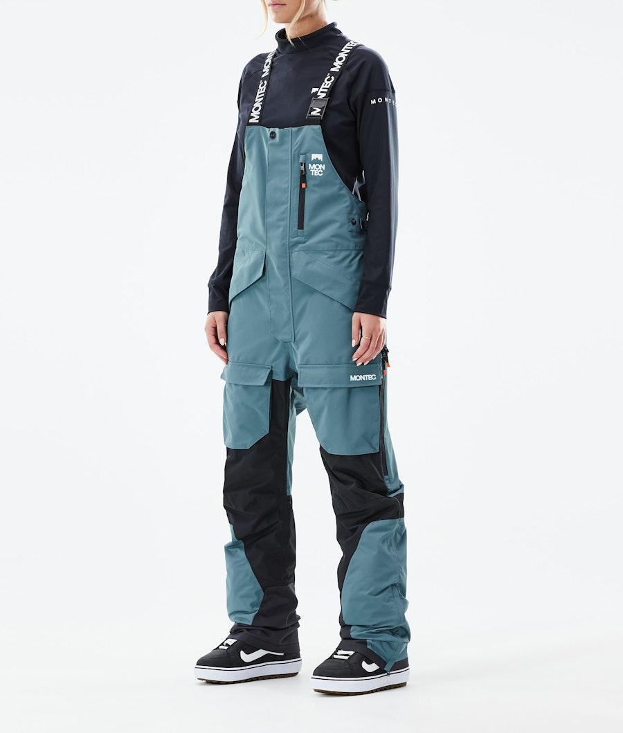 Montec Fawk W Snowboardhose Atlantic/Black