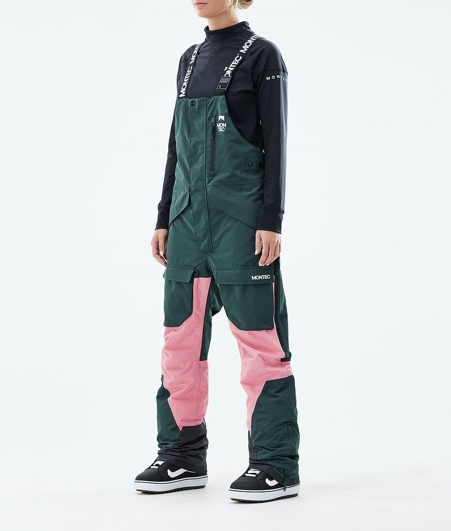 Montec Fawk W Lumilautailuhousut Dark Atlantic/Pink