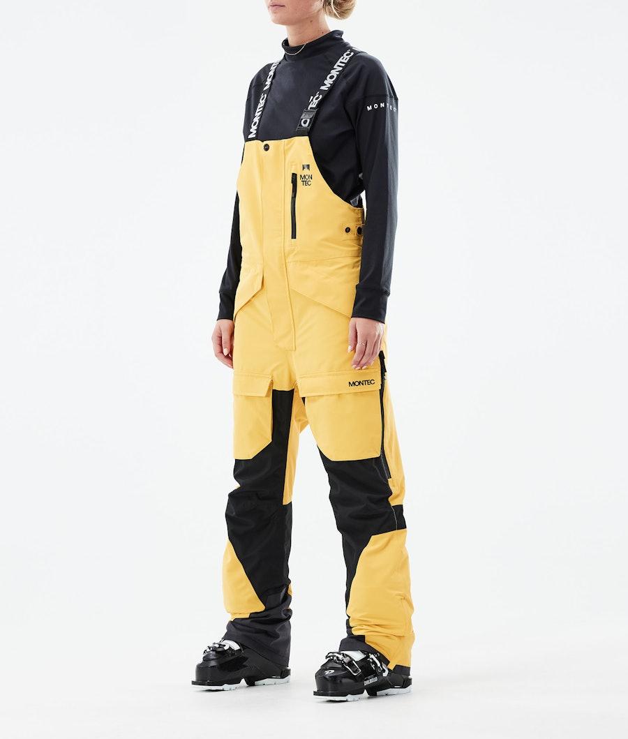 Montec Fawk W Ski Pants Yellow/Black