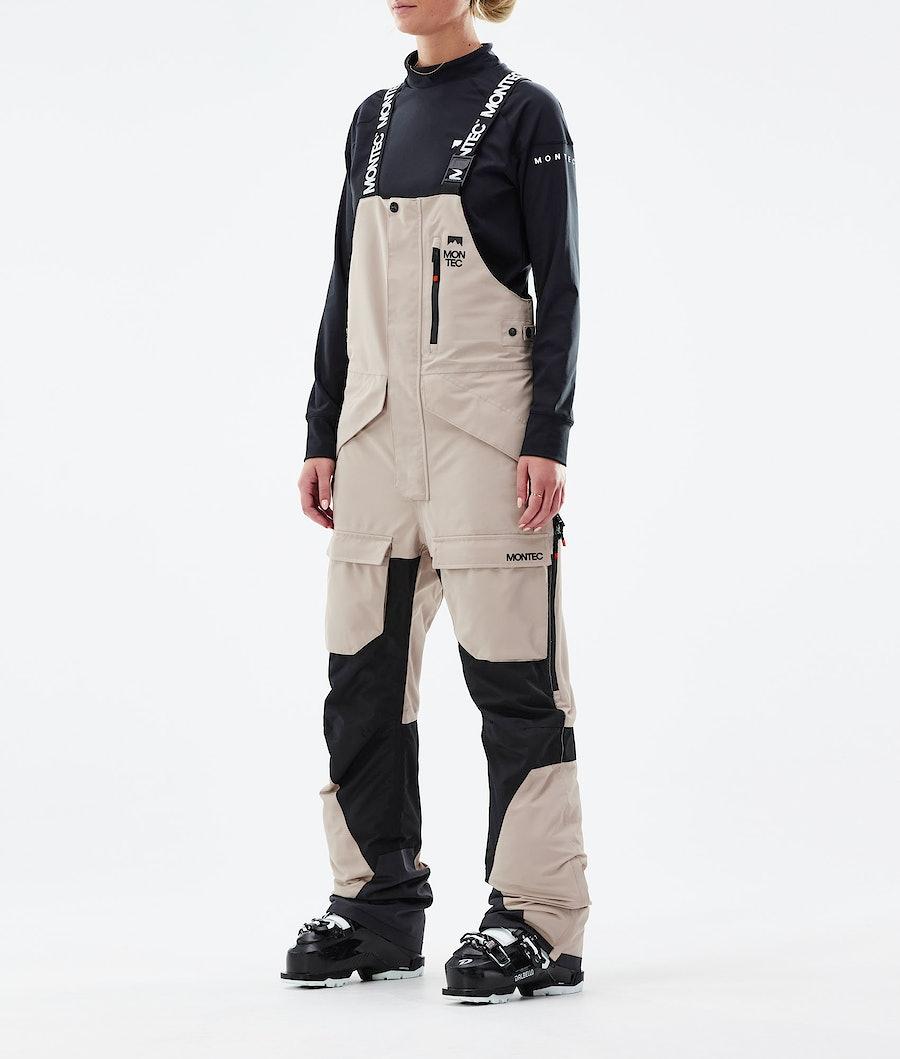 Montec Fawk W Ski Pants Sand/Black