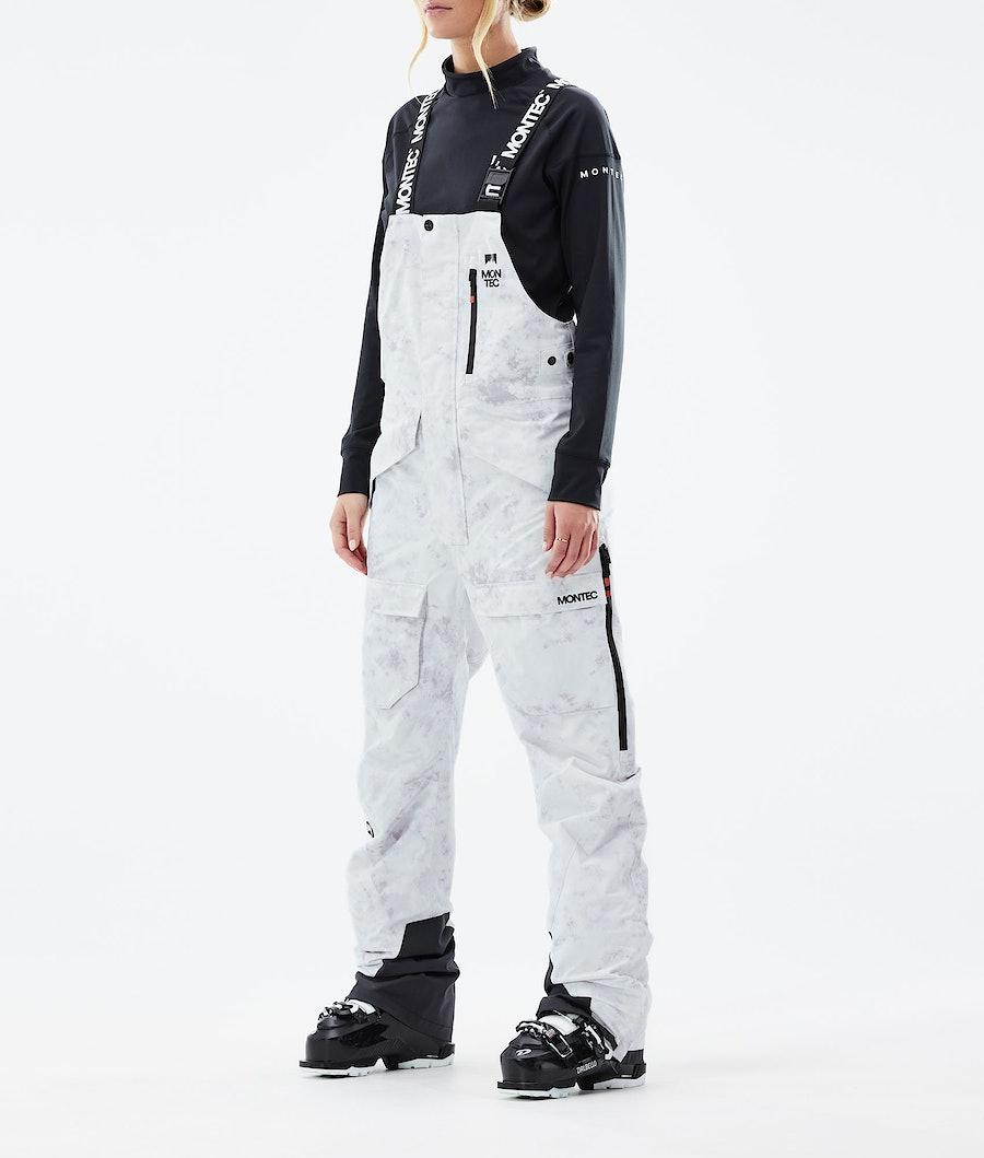 Fawk W Ski Pants Women White Tiedye
