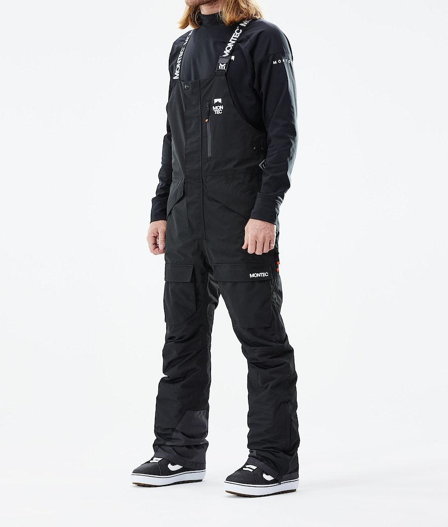 Montec Fawk Pantaloni Snowboard Black