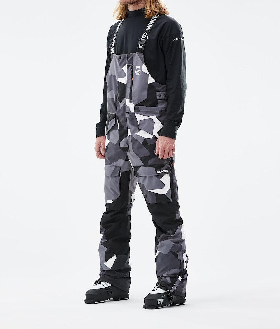 Fawk Ski Pants Men Arctic Camo/Black
