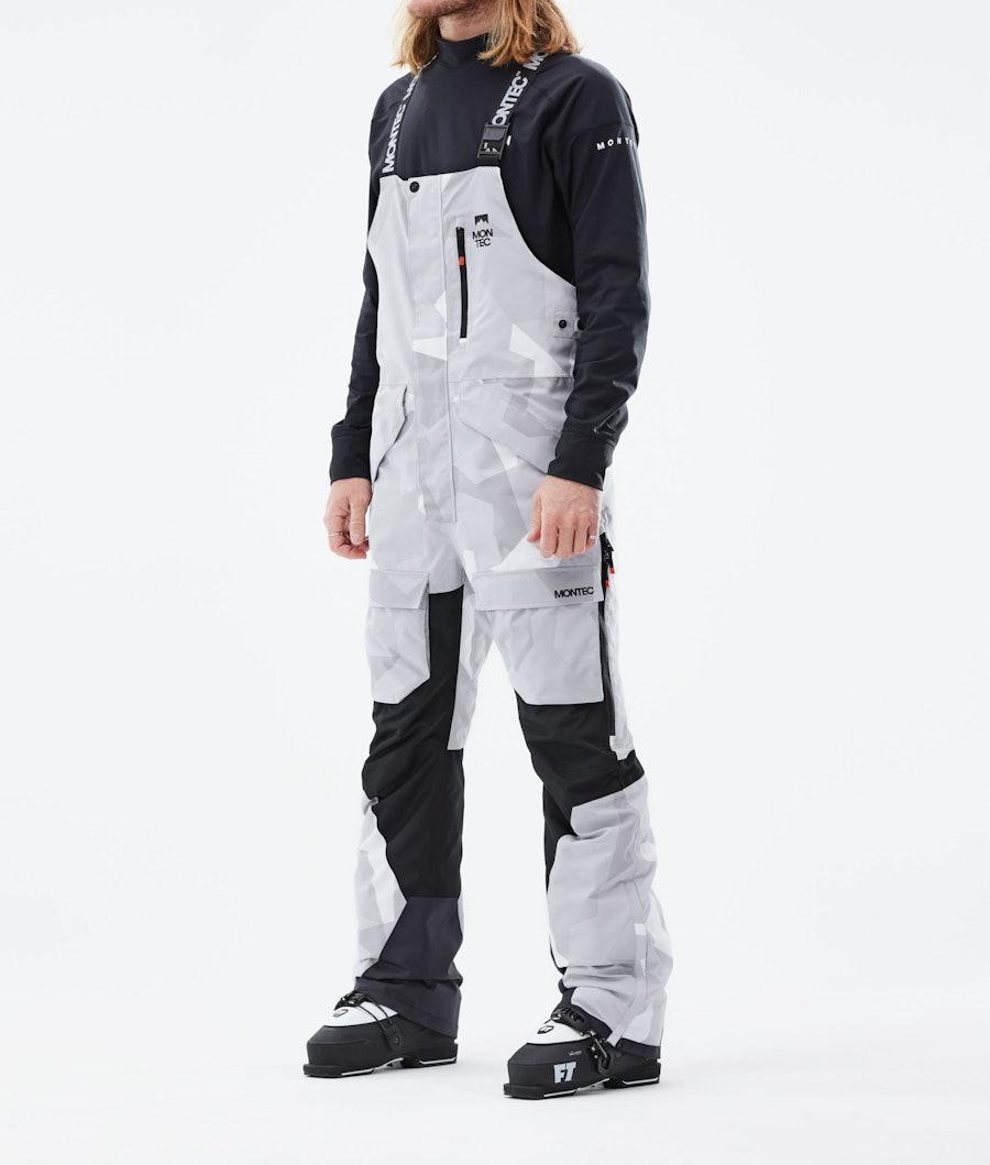 Fawk Ski Pants Men Snow Camo/Black