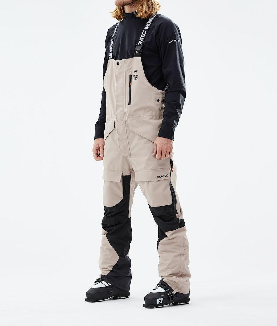 Fawk Ski Pants Men Sand/Black