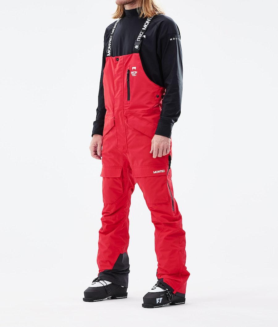 Fawk Ski Pants Men Red