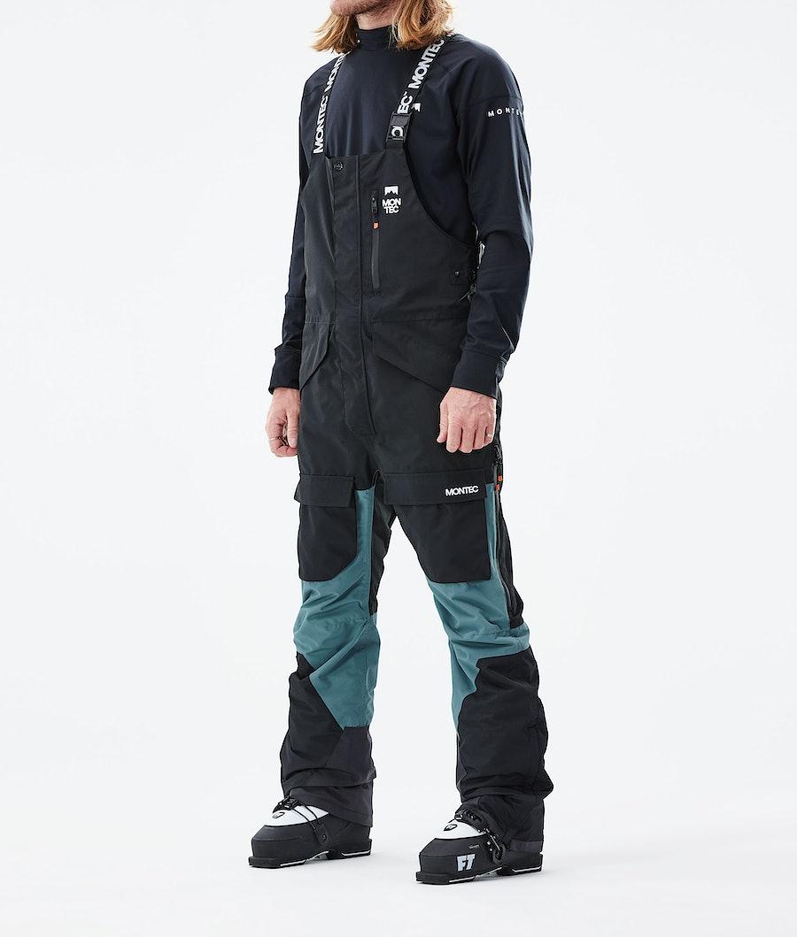 Fawk Ski Pants Men Black/Atlantic