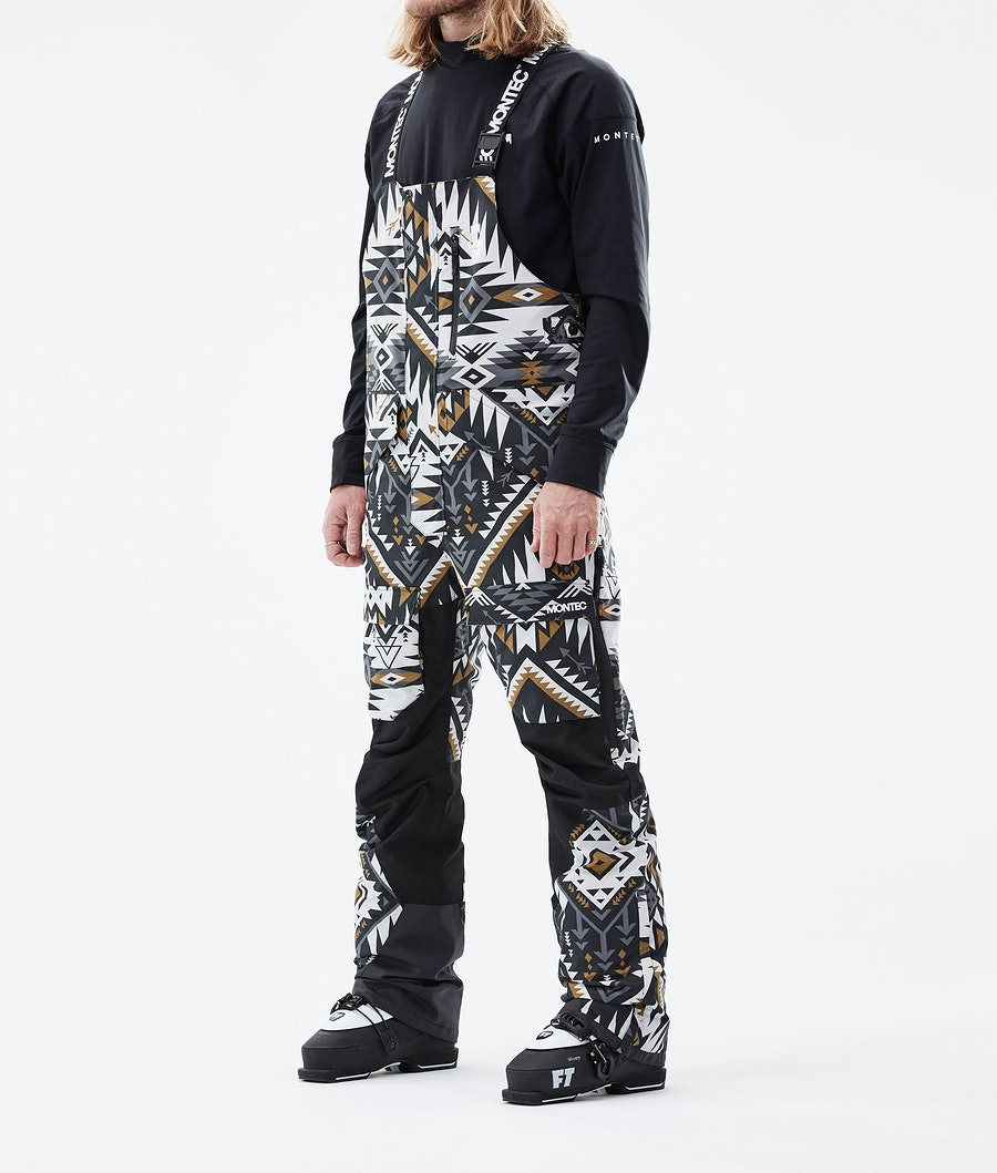 Fawk Ski Pants Men Komber Gold/Black
