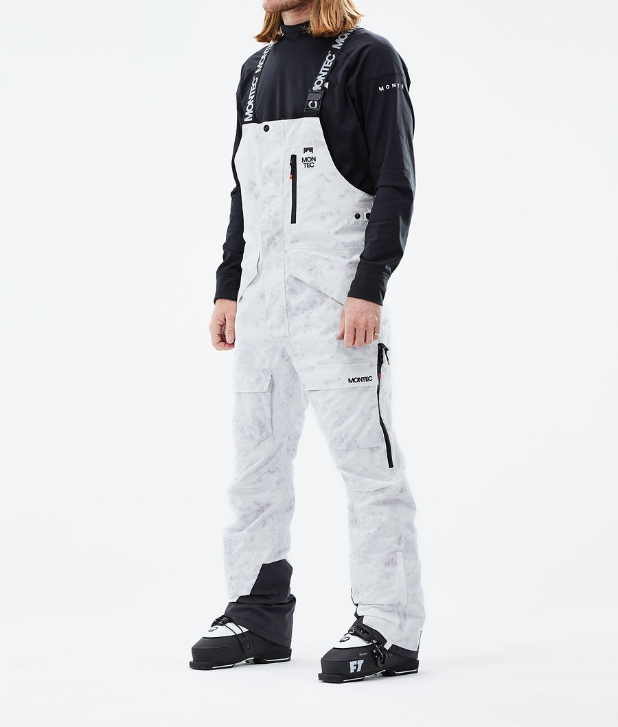 Fawk Ski Pants Men White Tiedye