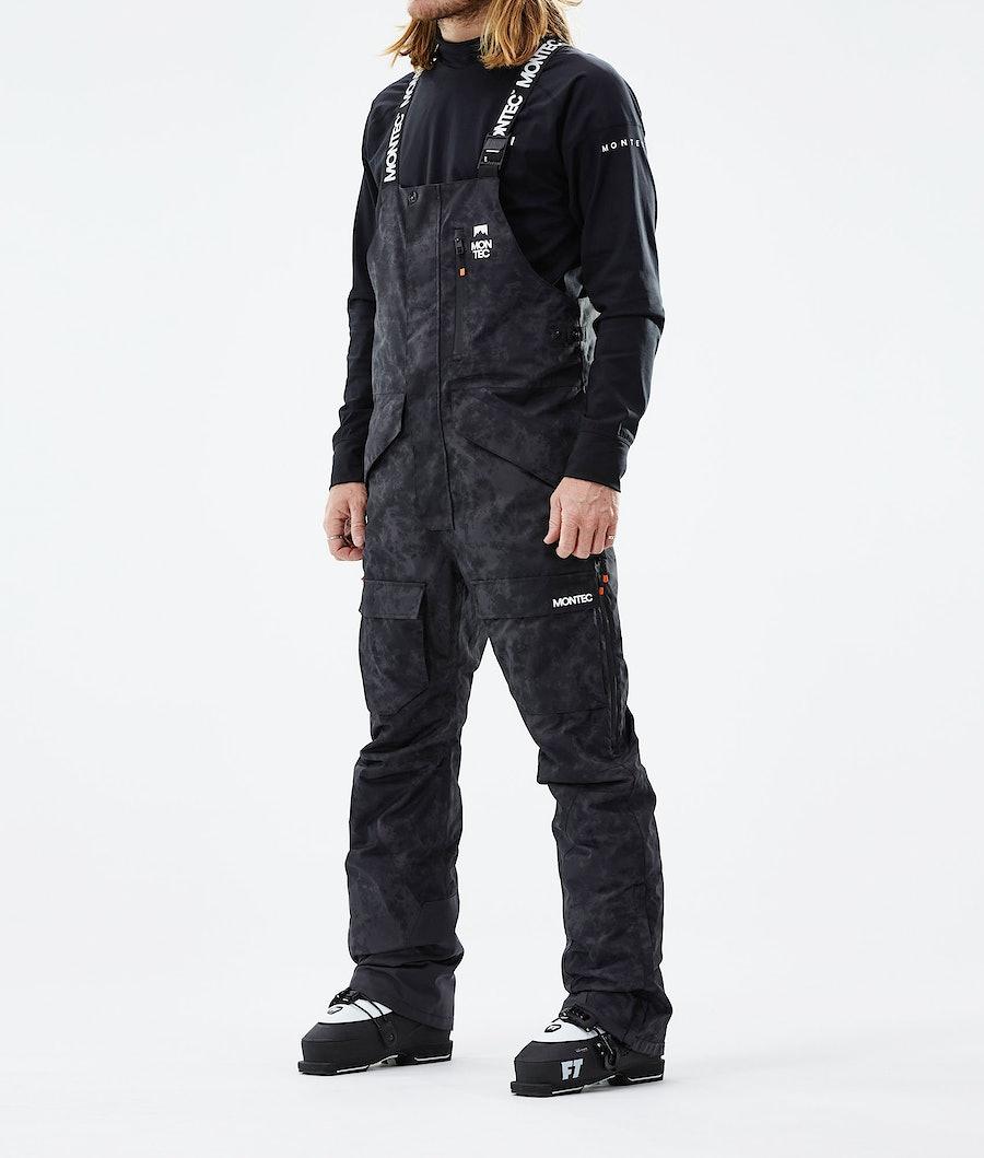Fawk Ski Pants Men Black Tiedye