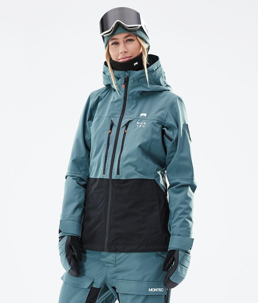 Montec Moss W Snowboard Jacket Atlantic/Black