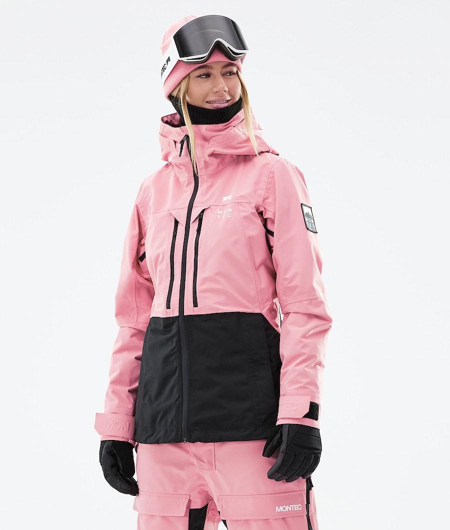 Montec Moss W Snowboardjacka Pink/Black