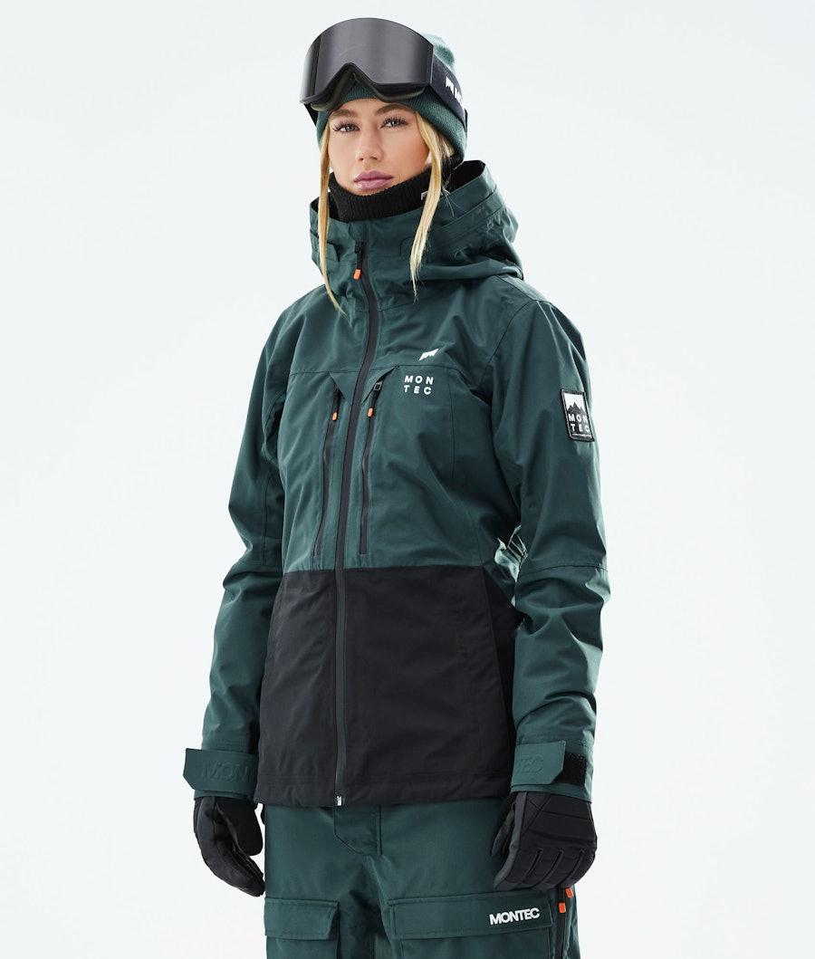 Montec Moss W Snowboard Jacket Dark Atlantic/Black