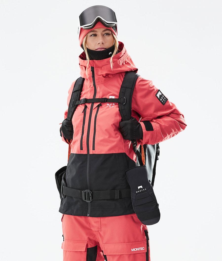 Montec Moss W Snowboardjacke Coral/Black