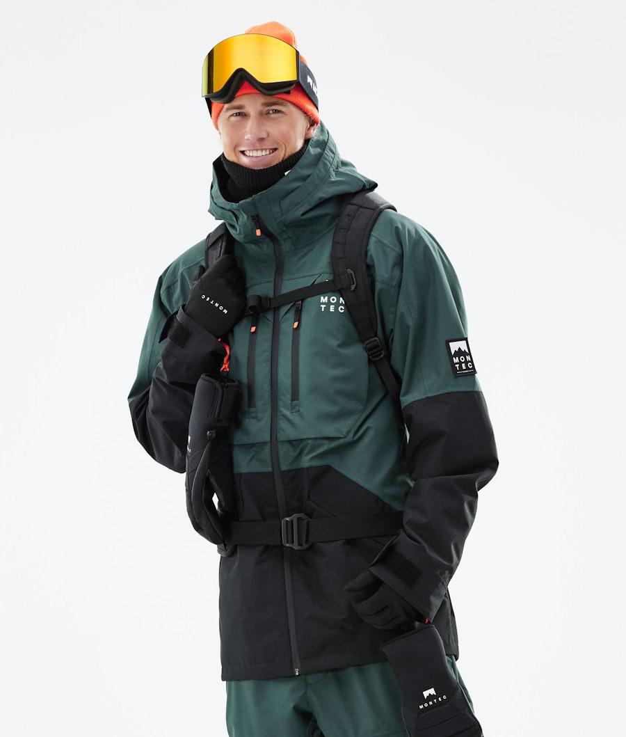 Montec Moss Snowboardjacka Dark Atlantic/Black