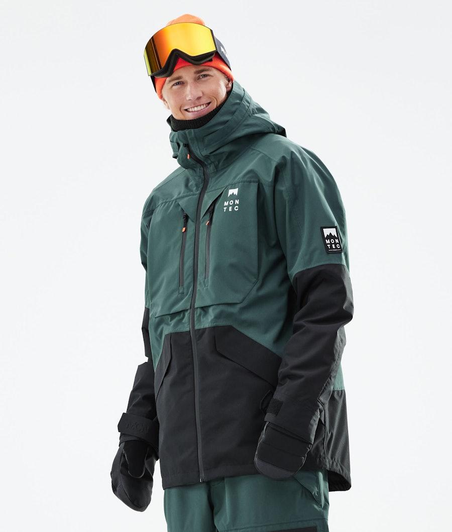 Moss Ski Jacket Men Dark Atlantic/Black