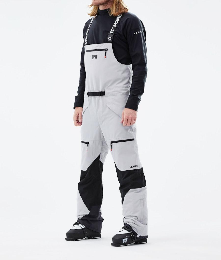 Moss Ski Pants Men Light Grey/Black