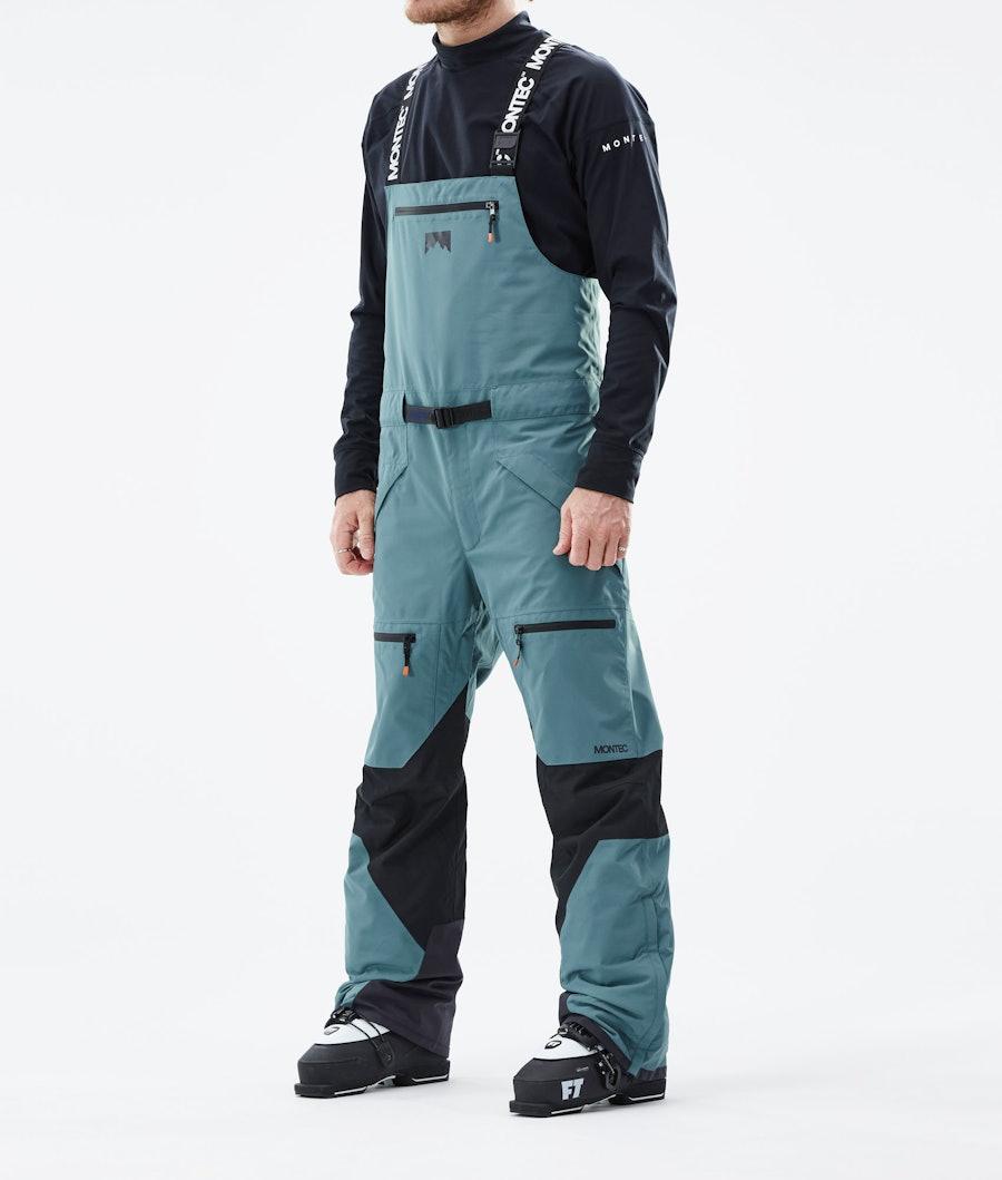 Moss Ski Pants Men Atlantic/Black