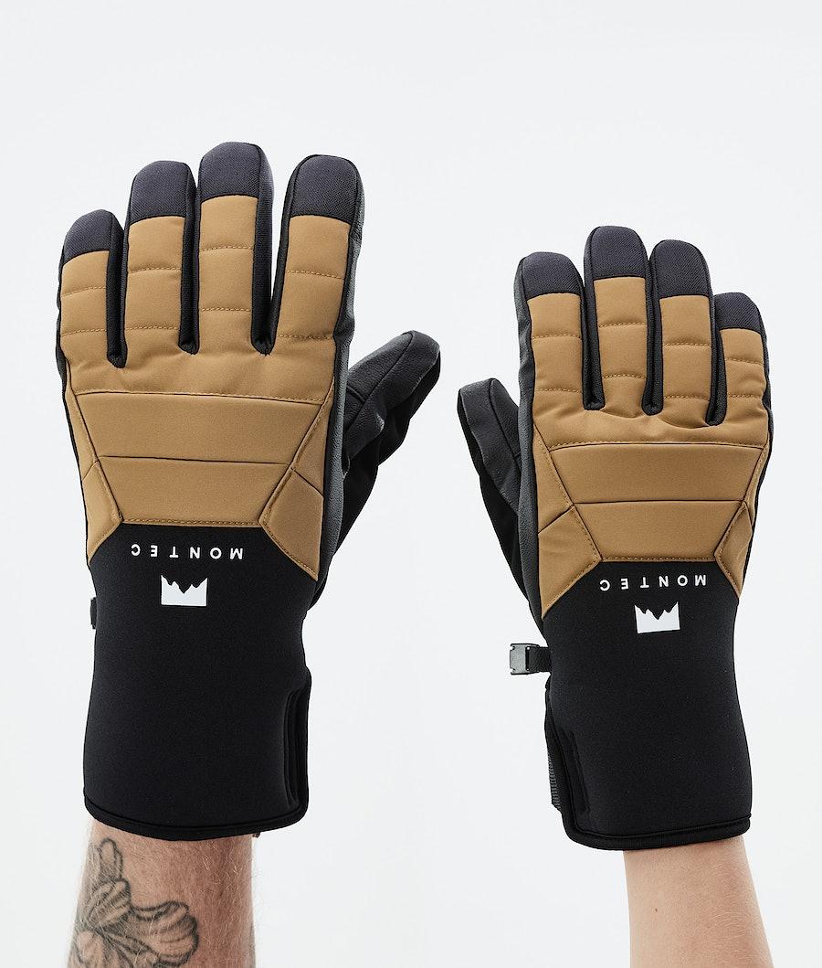 Kilo Glove Ski Gloves Gold