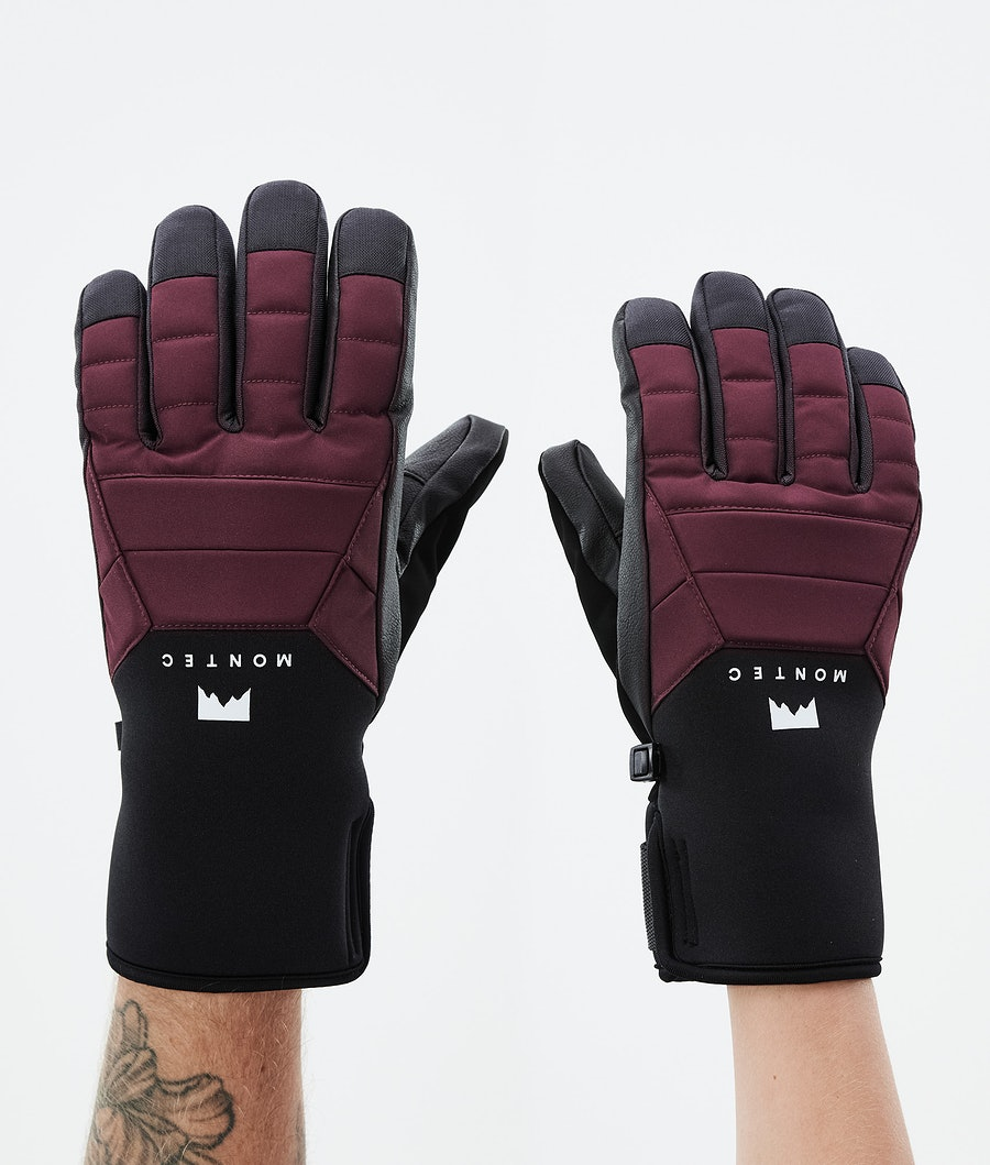 Montec Kilo Glove Ski Gloves Burgundy