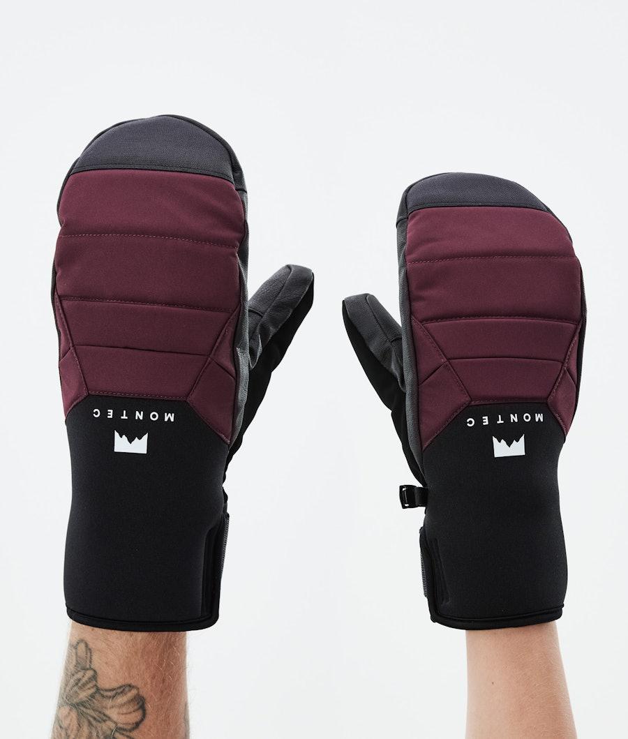 Kilo Mitt Ski Gloves Burgundy