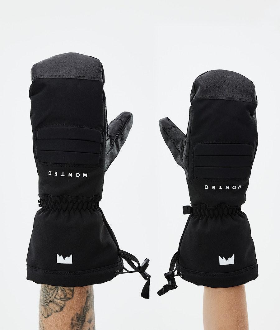 Roast Mitt Ski Gloves Black