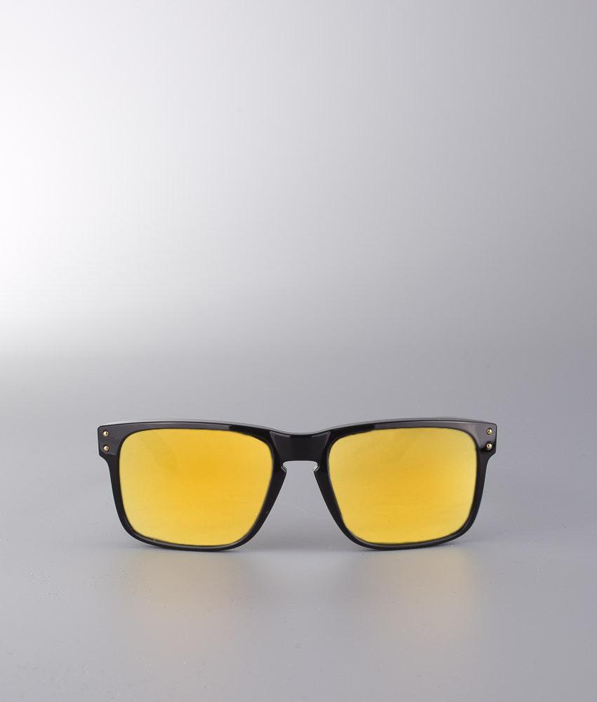 a2f69effa3 Oakley Holbrook Sunglasses Polished Black W 24K Gold Iridium ...