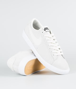 sports shoes 371c8 47a0e Nike Zoom Blazer Low Gt Shoes Summit White/Summit White-Obsidian