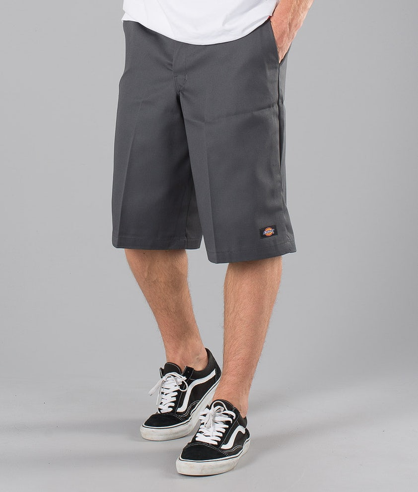 Dickies 13 Inch Multi Pocket Work Shorts Charcoal Grey