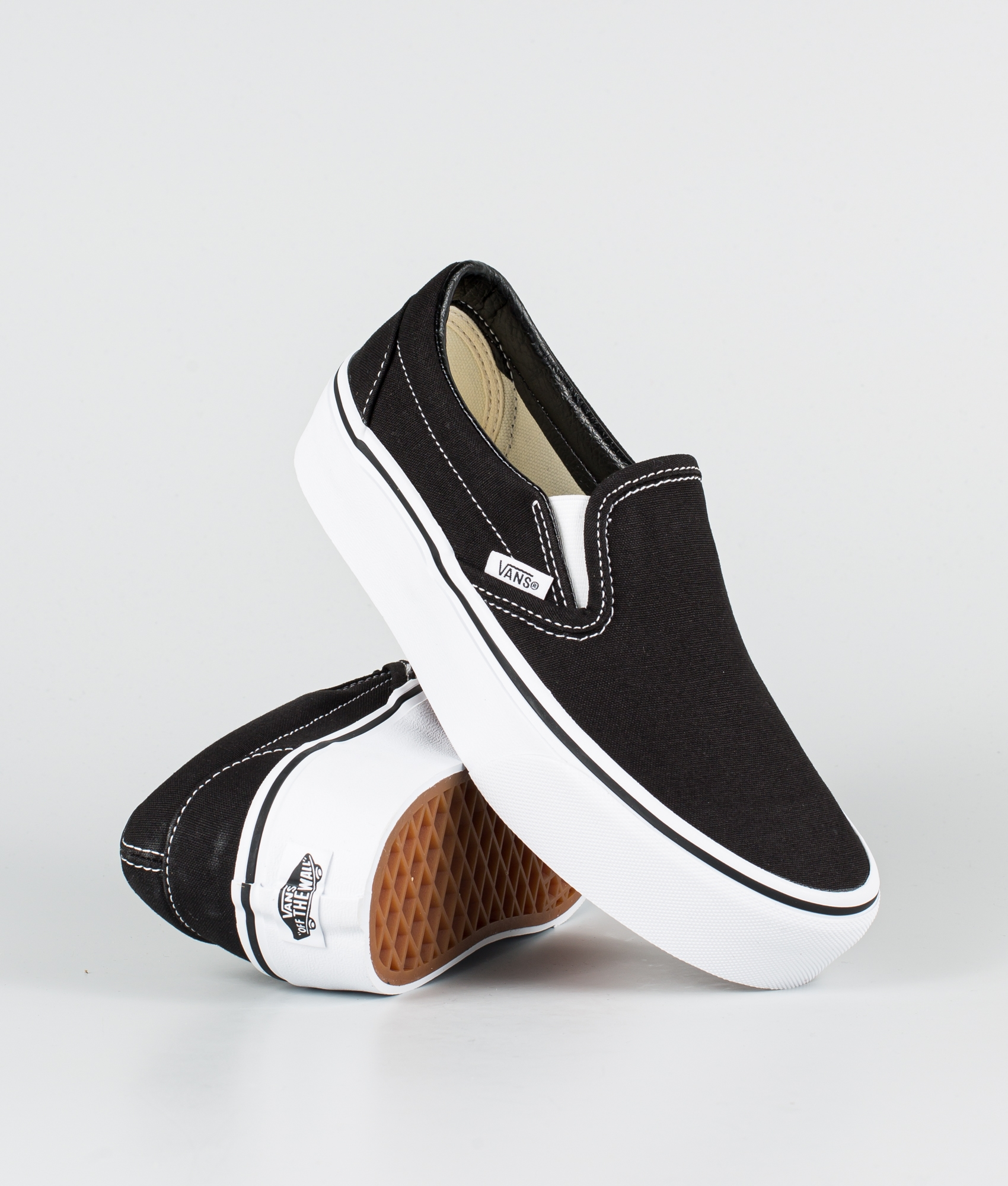 Vans Ua Classic Slip-On Platform Shoes Black | Ridestore.com