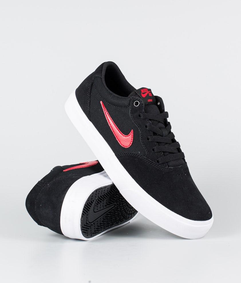 Nike SB Chron Solarsoft Schuhe Black/University Red