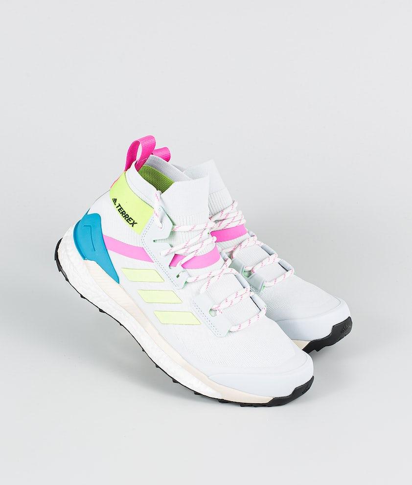 Adidas Terrex Free Hiker Primeblue Schuhe Halo Blue/Hi-Res Yellow/Scream Pink