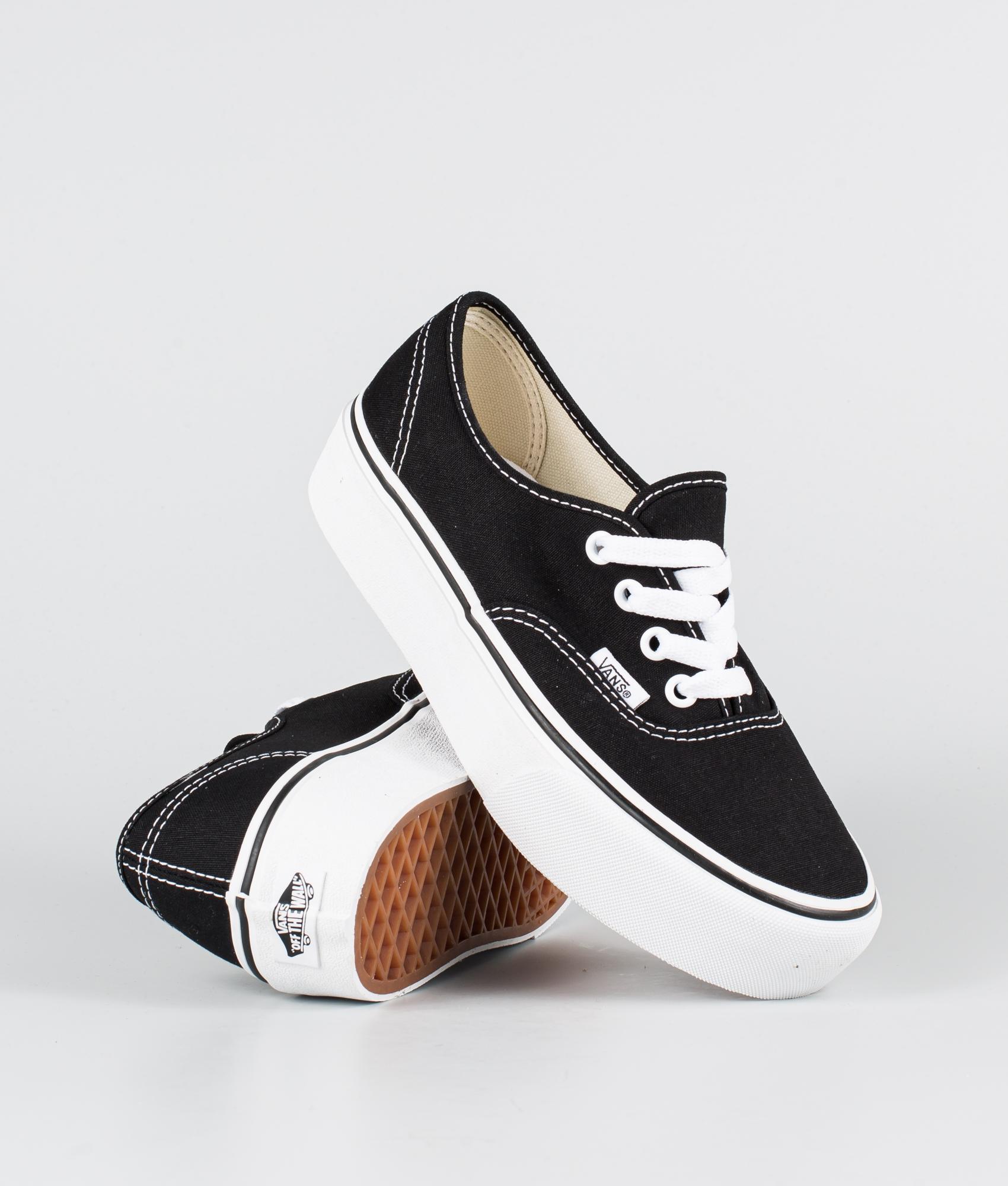 Vans Ua Authentic Platform 2.0 Chaussures Black
