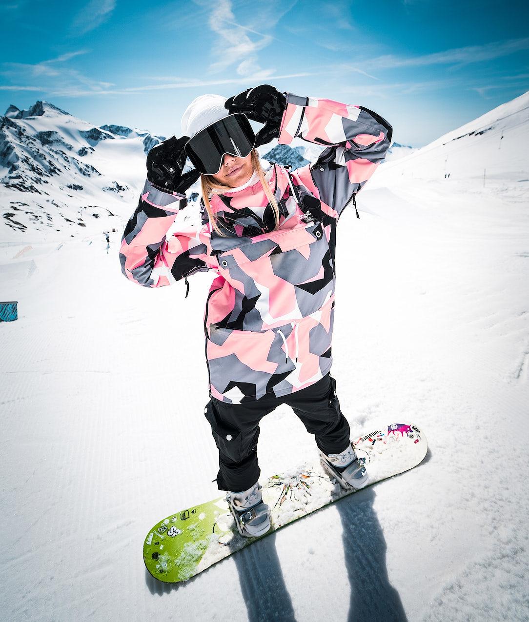 chaussures de sport 9ff0f c8bd1 Dope Annok W Snowboard Jacket Pink Camo