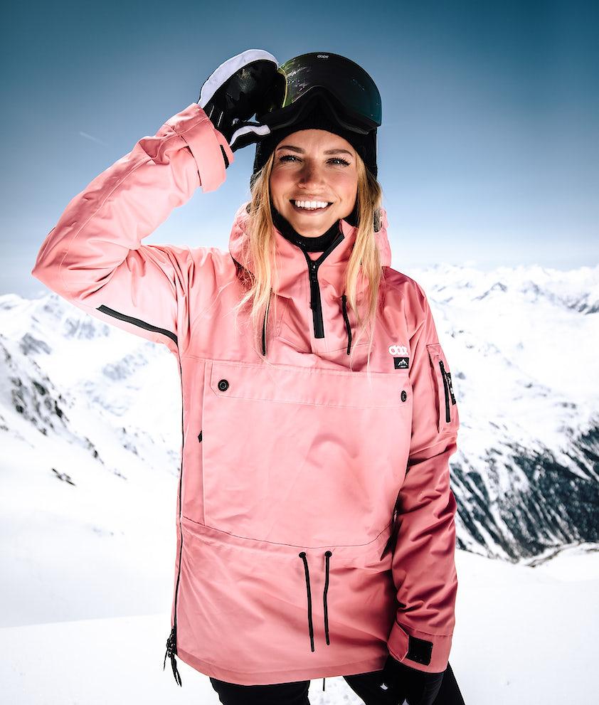 Dope Annok W Snowboardjakke Pink
