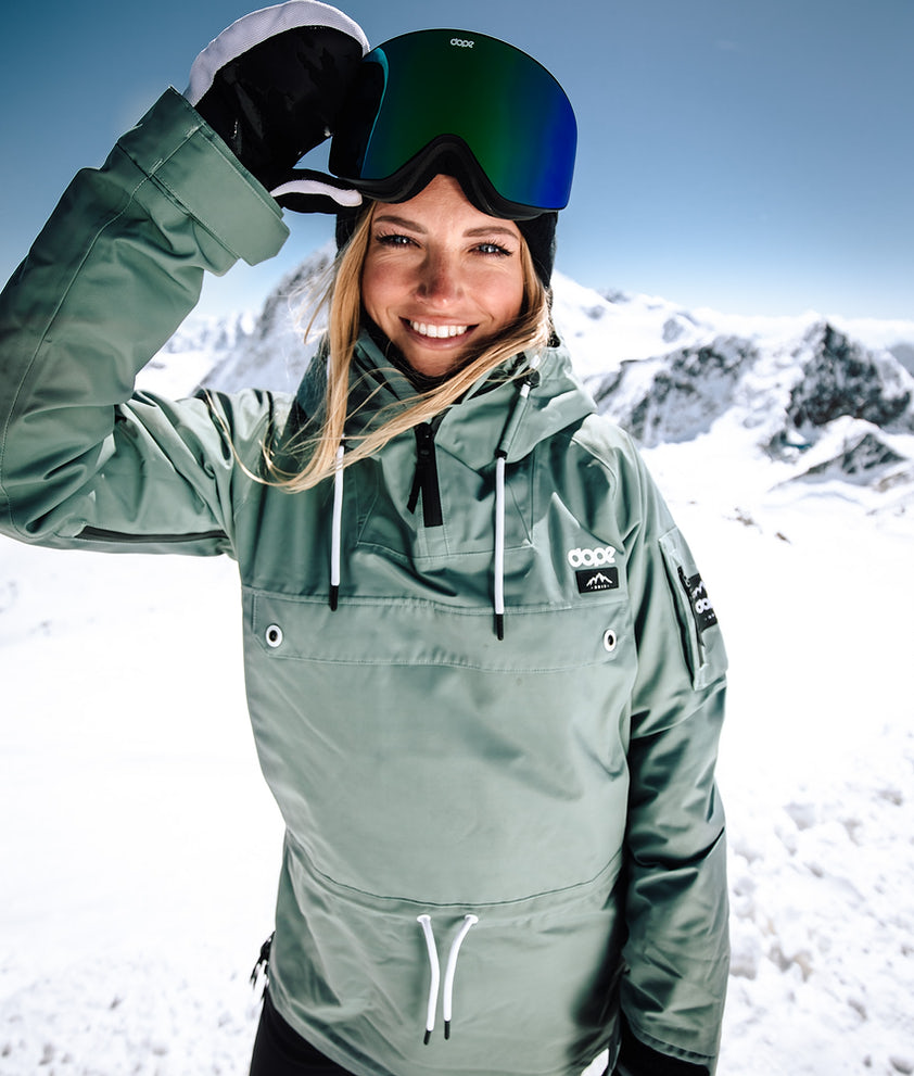 Dope Annok W Snowboardjacke Faded Green