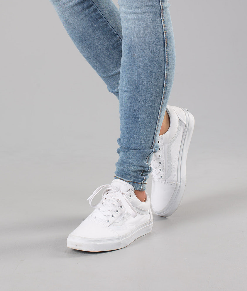 Vans Old Skool Unisex Sko True White
